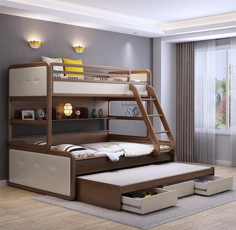 Những mẫu thiết kế phòng ngủ giường tầng siêu hot hiện nay