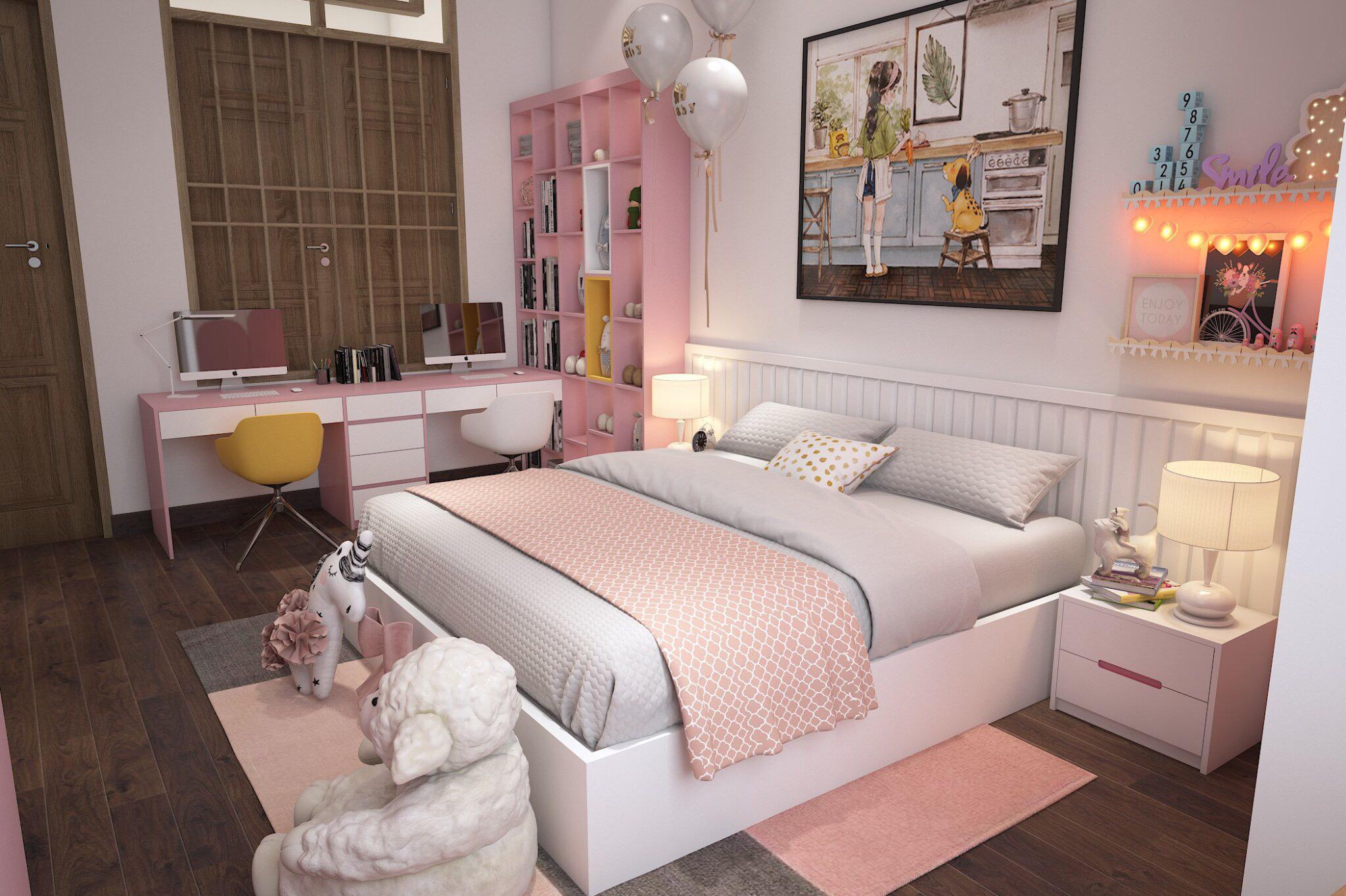 50 Mẫu phòng ngủ cho trẻ nhỏ