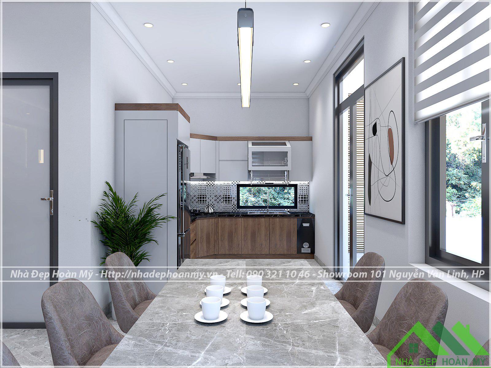 Bếp đẹp Hải Phòng