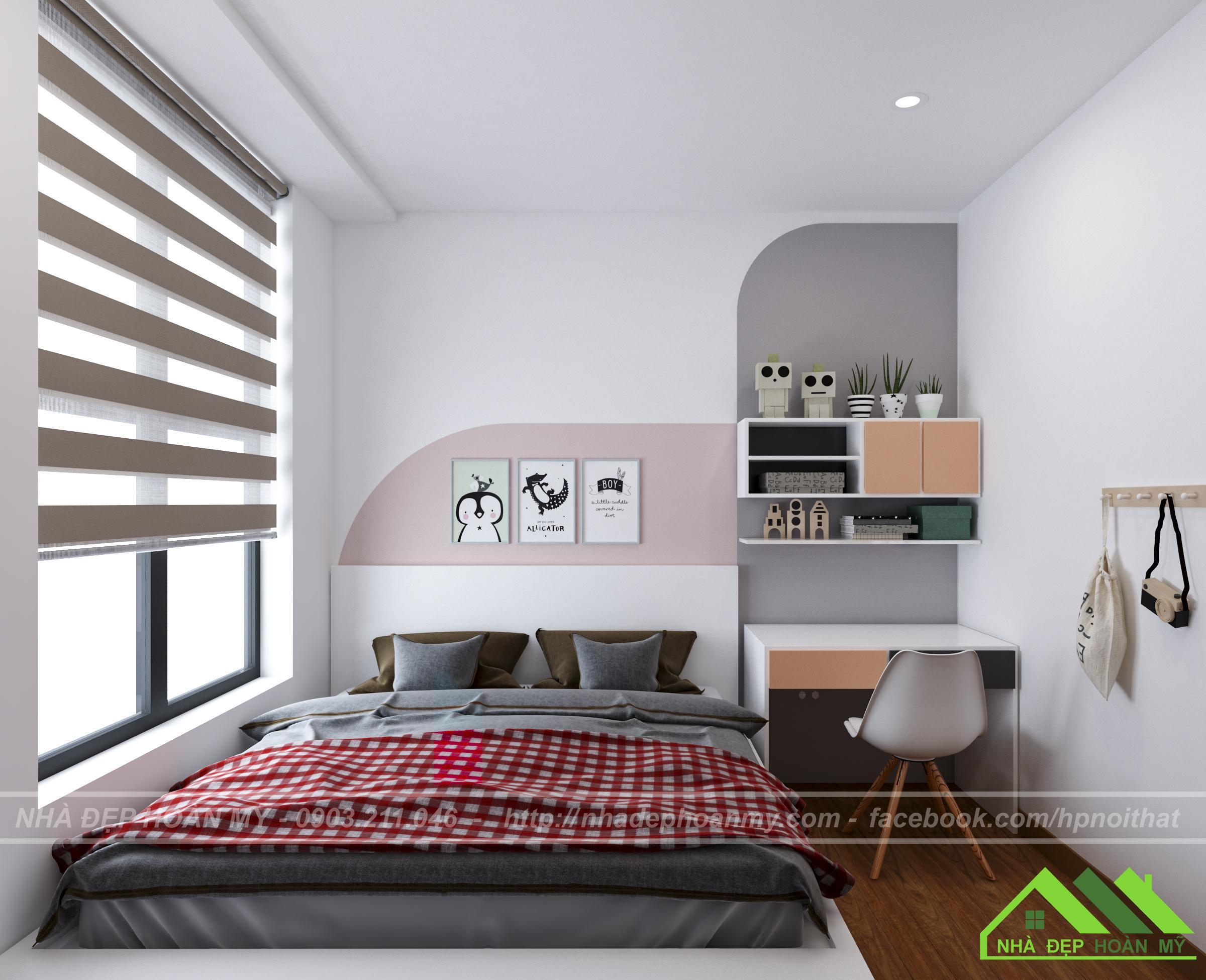 Phòng ngủ con trai tại Hải Phòng