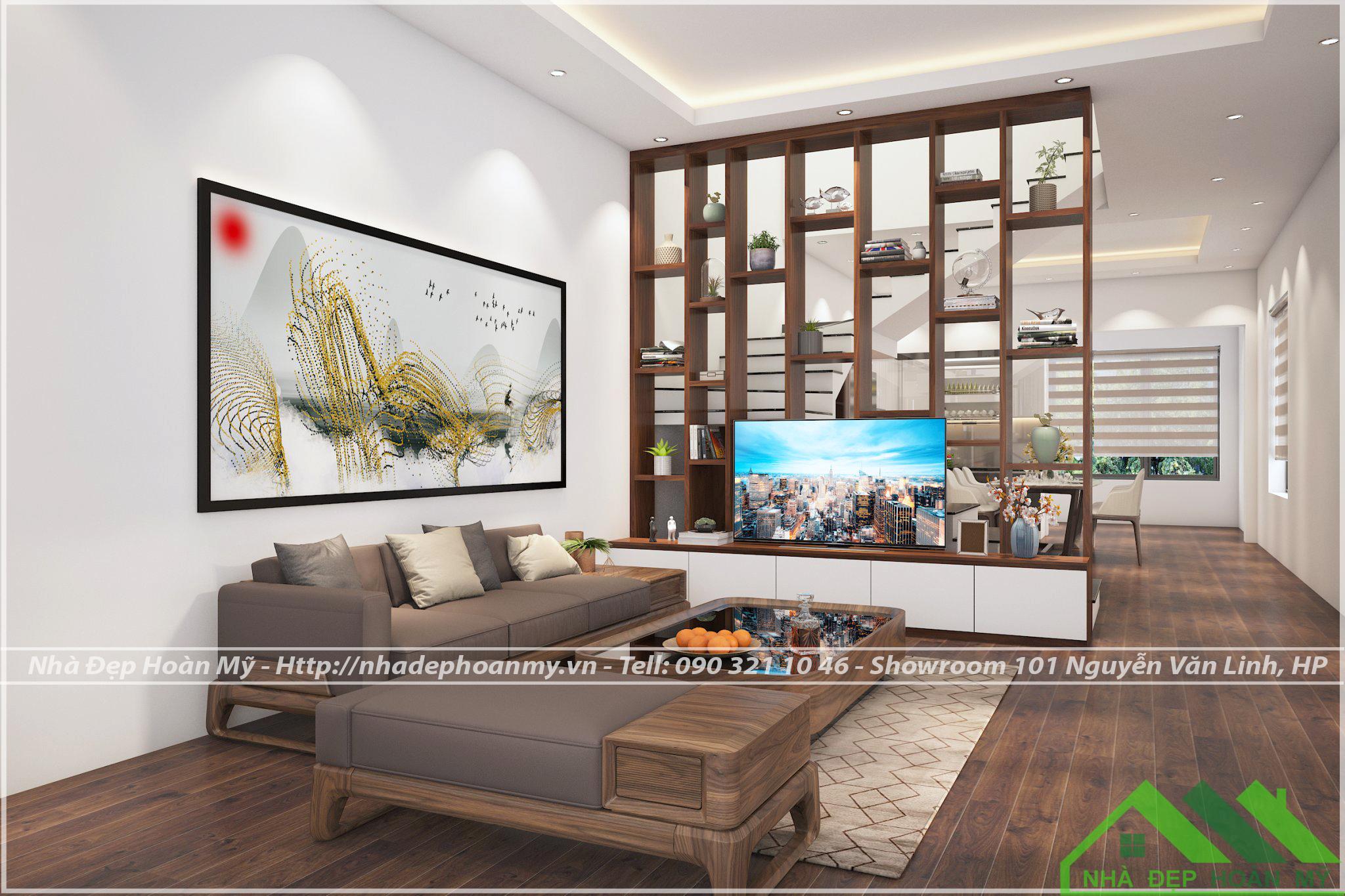 Thiết kế và thi công nội thất Hợp Đức - Đồ Sơn - Hải Phòng