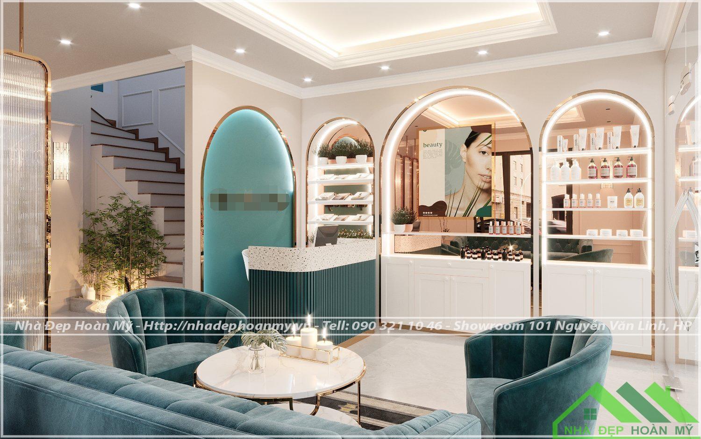 Spa được thiết kế và thi công tại Đình Đông Hải Phòng